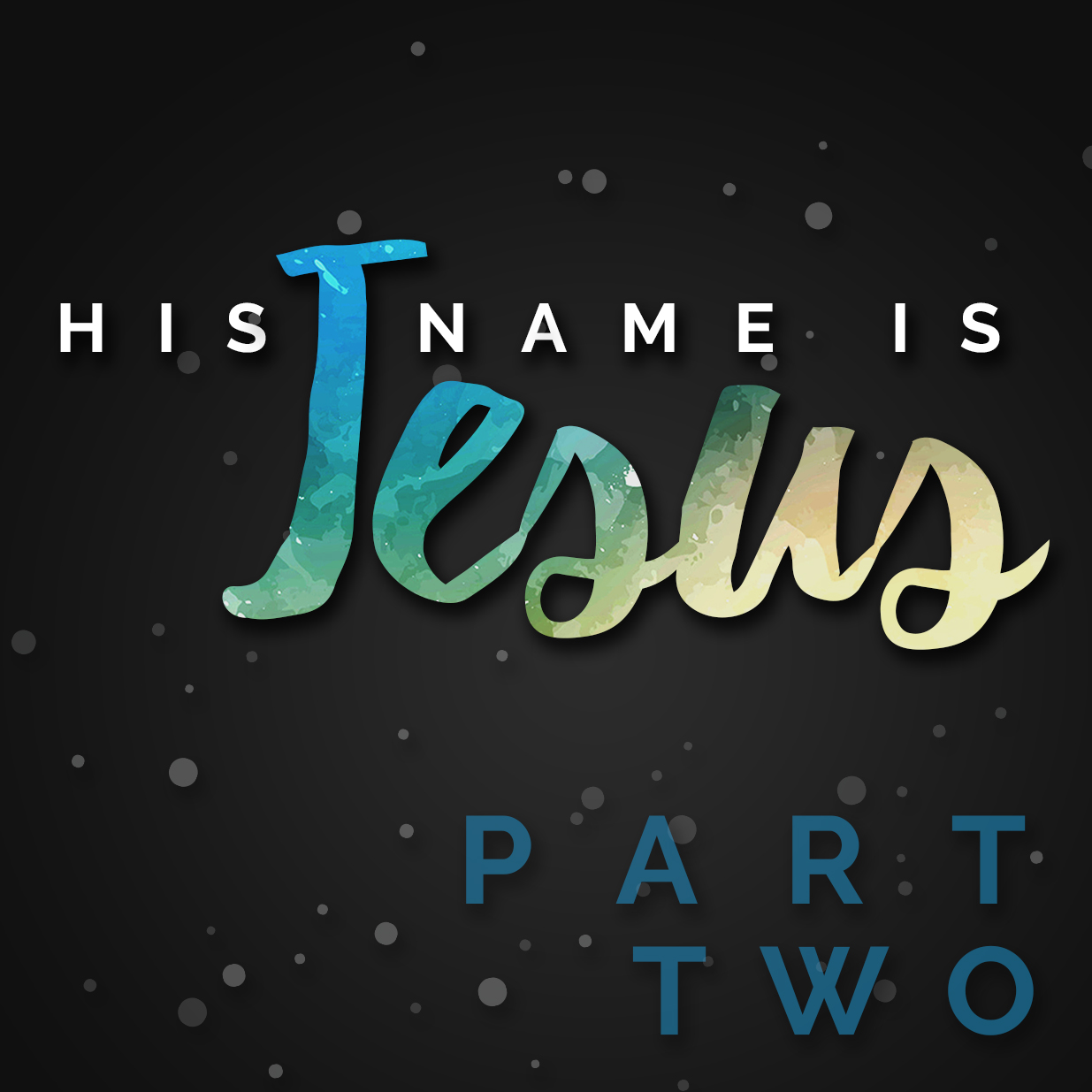 His Name is Jesus: Part 2